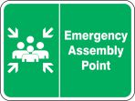 Safety Sign: Emergency Assembly Point (Graphic)