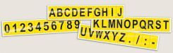 - Consecutive Letter and Number Markers
