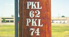- Embossed Aluminum Utility Pole Markers