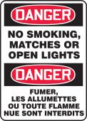 - BILINGUAL SAFETY SIGN - FRENCH
