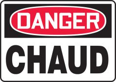 - SAFETY SIGN - FRENCH