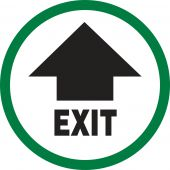 - Exit- Safety Label