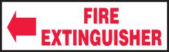 - Safety Labels: (Left Arrow) Fire Extinguisher