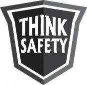 - Hard Hat Stickers: Think Safety