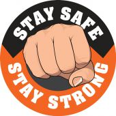 - Hard Hat Stickers: Stay Strong Stay Safe