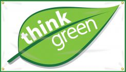 - Safety Banner: Think Green