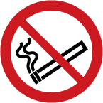 - ISO Prohibition Safety Sign: No Smoking (2011)