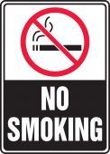 - Safety Sign: (Graphic) No Smoking