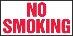 - Smoking Control Sign