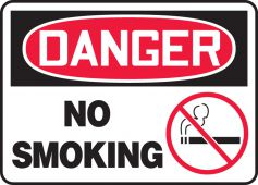 - OSHA Danger Safety Sign: No Smoking