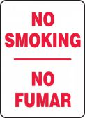 - Contractor Preferred Spanish Bilingual Smoking Control Sign: No Smoking