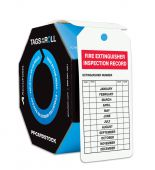 - Safety Tags By-The-Roll: Fire Extinguisher Inspection Record