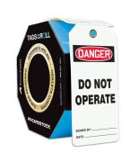 - OSHA Danger Tags By-The-Roll With Grommets:: Do Not Operate