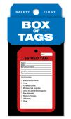 - Box of Tags: 5S Red Tag