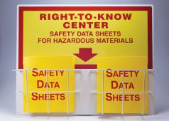 - Right-To-Know Compliance Center: Basket-Style Aluminum Centers