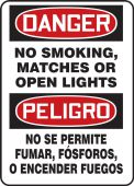 - BILINGUAL SAFETY SIGN - SPANISH