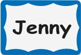 Name Badge Labels