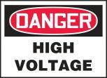 OSHA Danger Safety Label: High Voltage