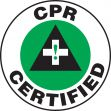 Hard Hat Stickers: CPR Certified