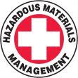 Hard Hat Stickers: Hazardous Materials Management