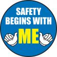 Hard Hat Stickers: Safety Begins With Me