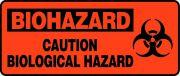 OSHA Biohazard Safety Sign - Caution Biological Hazard