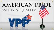 VPP Banners: American Pride - Safety And Quality