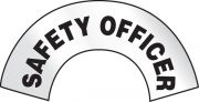 Reflective Emergency Response Hard Hat Decal: Safety Officer