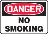 OSHA Danger Safety Sign: No Smoking