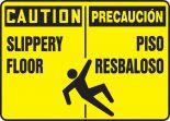 Spanish Bilingual Safety Sign