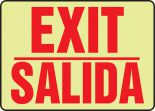 Bilingual Safety Sign - Exit / Salida