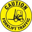 LED Sign Projector Lens Only: Caution - Forklift Traffic