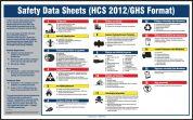 SDS Poster: (HCS 2012/GHS Format) Safety Data Sheets