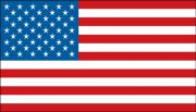 Hard Hat Stickers: American Flag