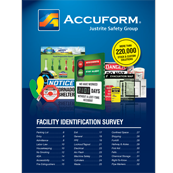 Accuform Safety Sign Survey - More than 220,000 stock and custom solutions.