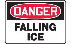 DANGER FALLING ICE
