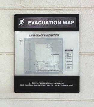 NEW EVACUATION MAP