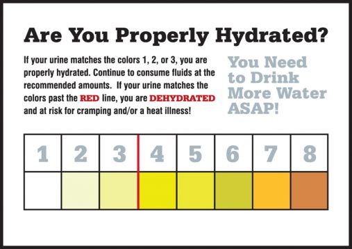 ARE YOU PROPERLY HYDRATED?