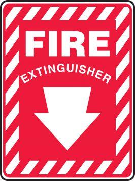FIRE EXTINGUISHER (ARROW)