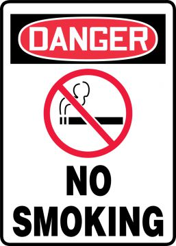 NO SMOKING (W/GRAPHIC)