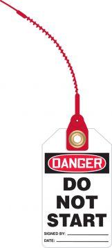 DANGER DO NOT START