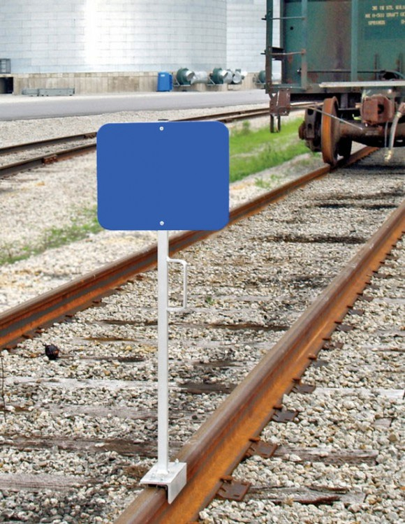 RAILROAD CLAMP SIGNS