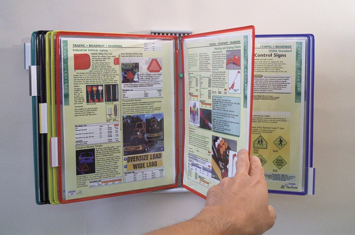 ORGANIZERS Flip-View Doc-Pocket Organizer