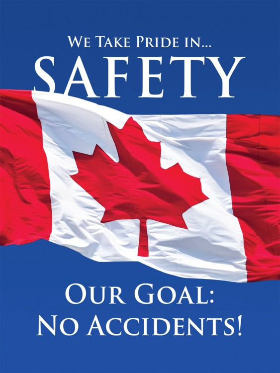 WE TAKE PRIDE IN...SAFETY OUR GOAL: NO ACCIDENTS!