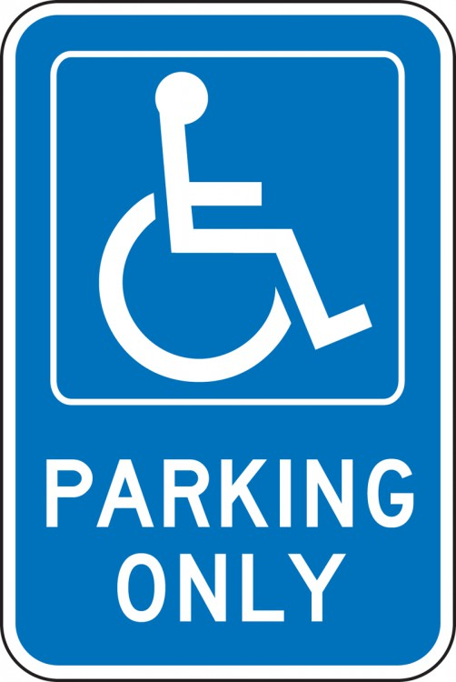 PARKING ONLY (W/GRAPHIC)