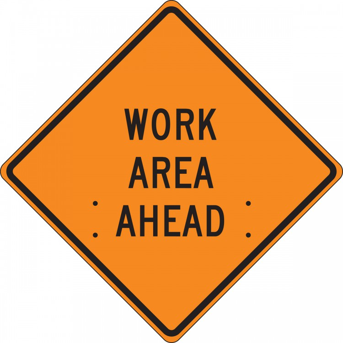 WORK AREA AHEAD
