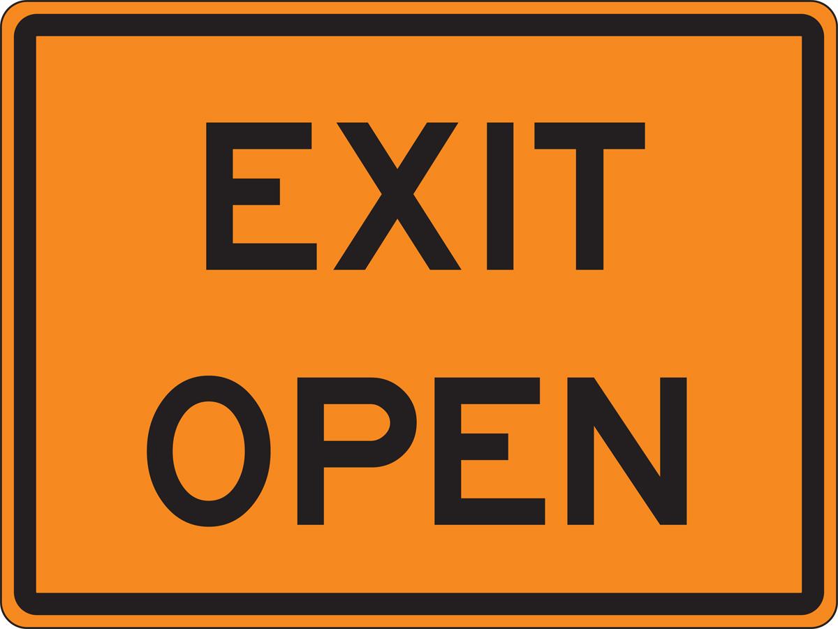 EXIT OPEN