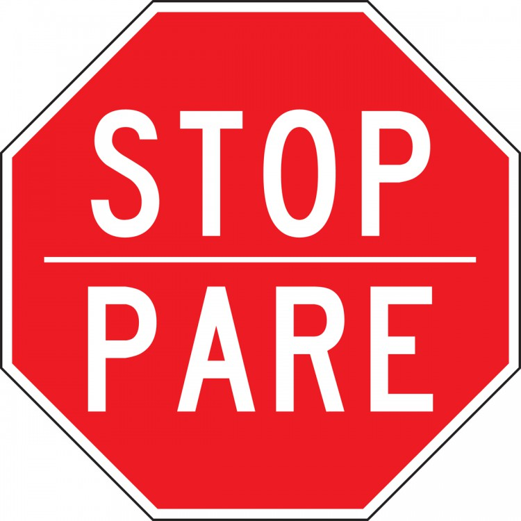 STOP/PARE