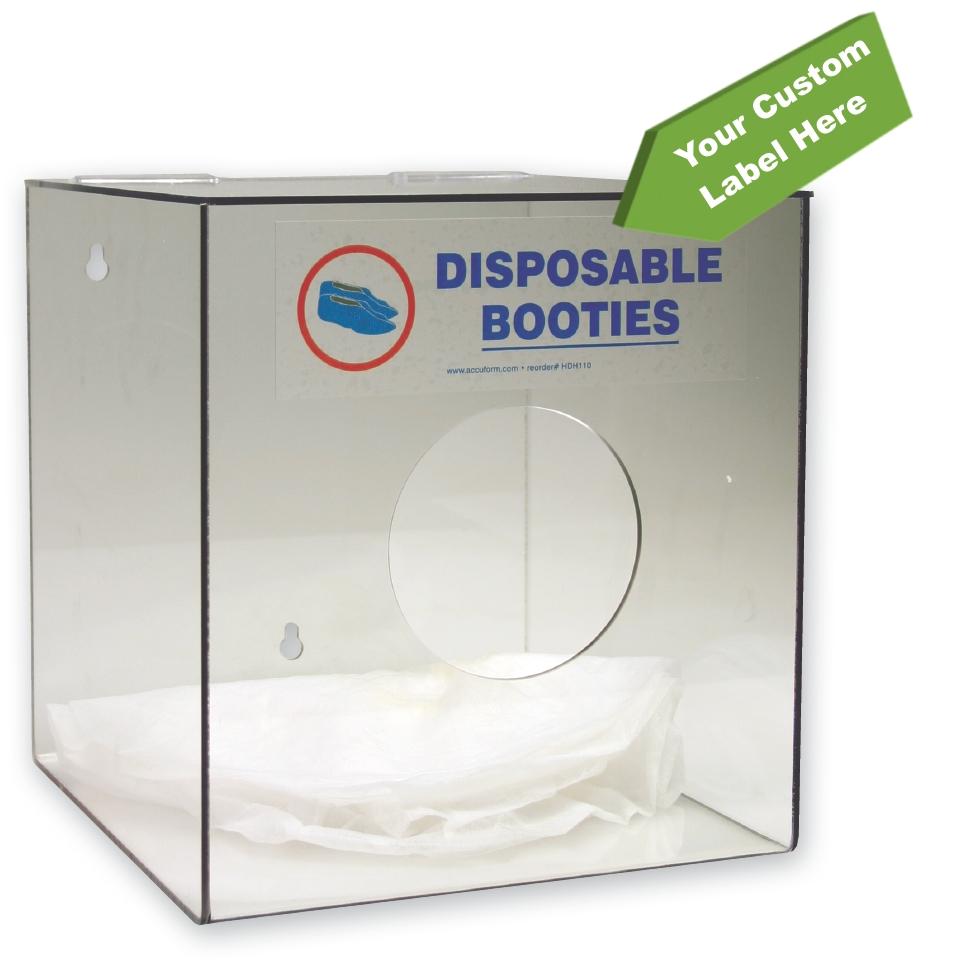 Bootie Dispenser w/ Custom Label