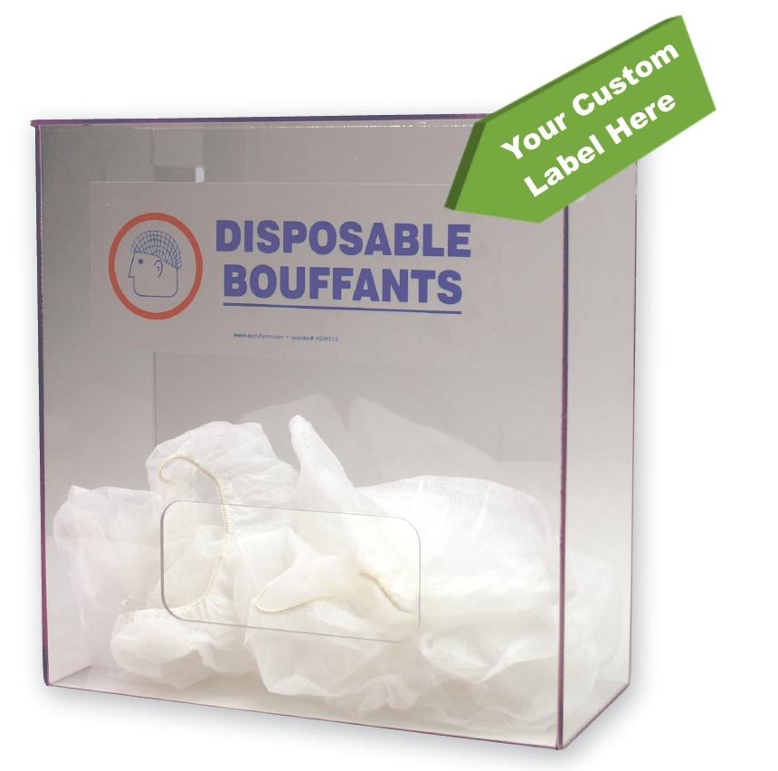 Bouffant Dispenser w/ Custom Label